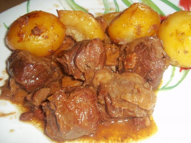 Recette joue de porc la bi re et au miel 750g - Cuisiner de la joue de porc ...