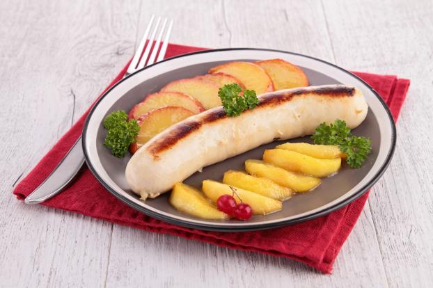 Recette boudins blancs aux pommes 750g - Comment cuisiner le patisson blanc ...