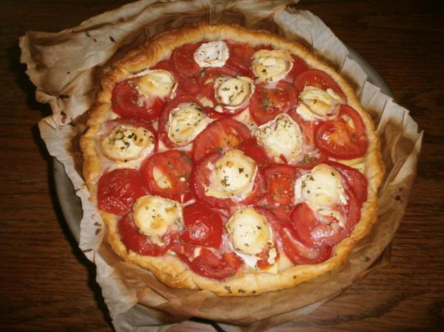 Recette Tarte Courgette Tomate Et Chevre Maison 750g