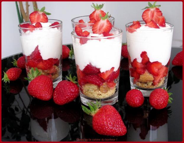 recette trifle aux fraises gourmand 750g