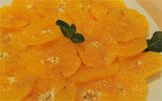 Recette Salade D Oranges A La Cannelle Et Fleur D Oranger En Video