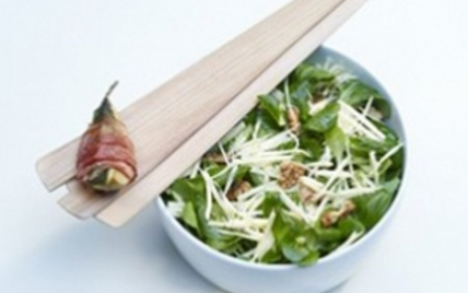 Recette - Salade de panais aux poires, lard et gruyère AOC ...