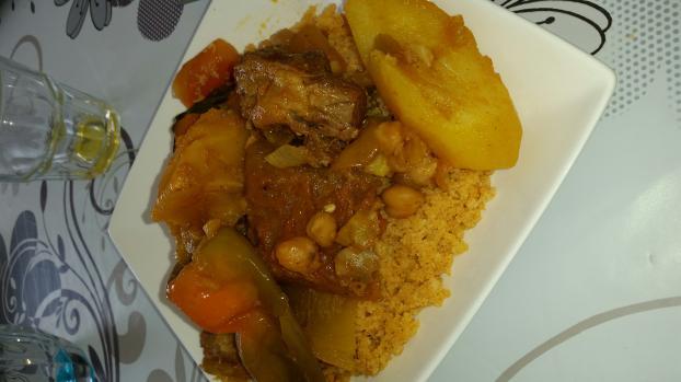 Recette couscous tunisien not e 4 2 5 - Recette cuisine couscous tunisien ...