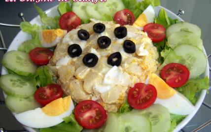 Recette salade estivale conomique 750g - Comment presenter des crevettes en entree ...