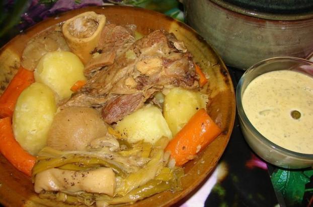 recette pot au feu en gratin maison 750g
