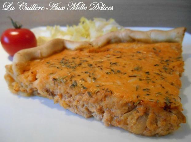 Recette Quiche Au Thon A La Tomate 750g