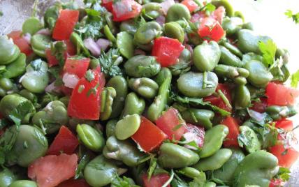 Recette salade de f ves 750g - Cuisiner feves fraiches ...