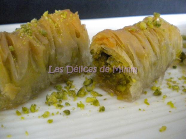 Recette baklavas rolls aux pistaches recette libanaise 750g - Cuisine orientale facile ...