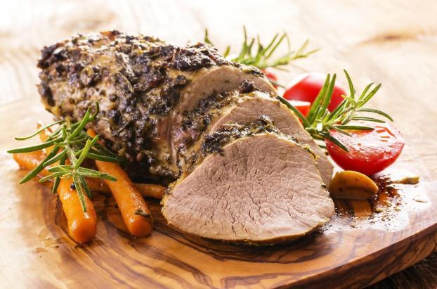Recette r ti de veau et sa petite cr me aux noisettes 750g - Comment cuisiner un roti de veau ...