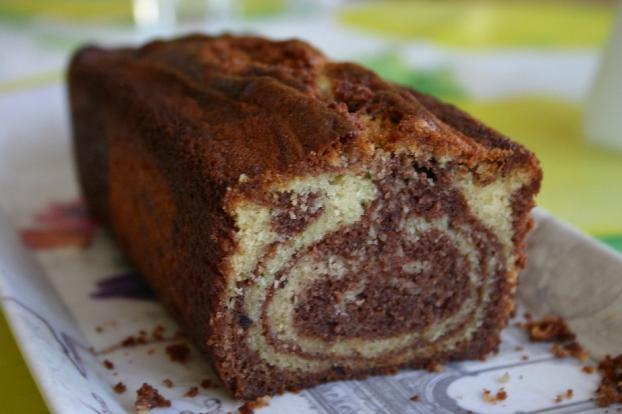 Cake chocolat vanille chef