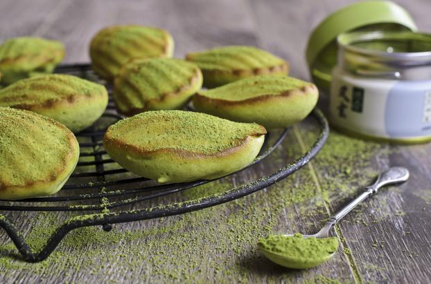 recette mini madeleines au th matcha 750g. Black Bedroom Furniture Sets. Home Design Ideas