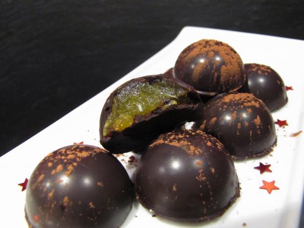 Recette Chocolats Maison Fourres A La Clementine 750g
