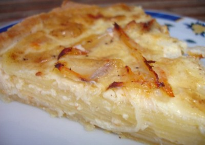 recette tarte aux pommes de terre 750g. Black Bedroom Furniture Sets. Home Design Ideas