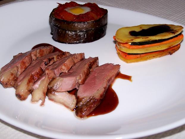 Recette magret de canard au miel classique 750g - Cuisiner un magret de canard a la poele ...