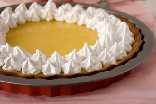 Recette tarte au citron coulis chocolat 750g - Recette tarte citron meringuee ...