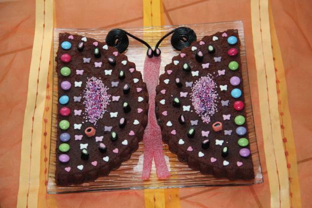 Recette g teau papillon 750g - Decoration gateau papillon ...
