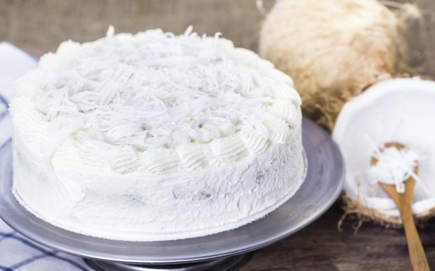 Patisserie chocolat blanc noix de coco