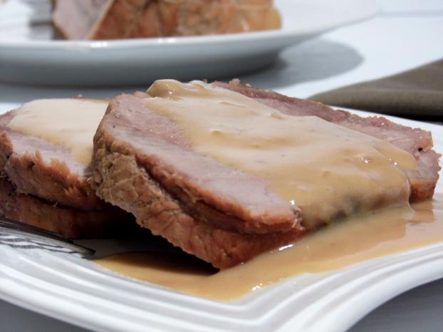 recette r ti de porc la bi re miel et moutarde 750g. Black Bedroom Furniture Sets. Home Design Ideas