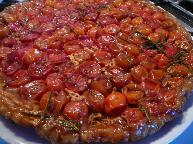 recette tarte tatin de tomates cerises 750g. Black Bedroom Furniture Sets. Home Design Ideas