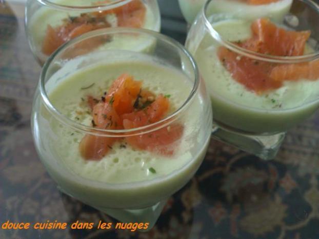 Recette verrines mousse de p tisson et truite fum 750g - Cuisiner patisson blanc ...