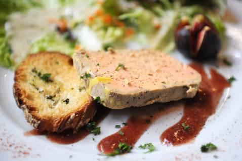recette foie gras croque sel au piment d 39 espelette et sa. Black Bedroom Furniture Sets. Home Design Ideas