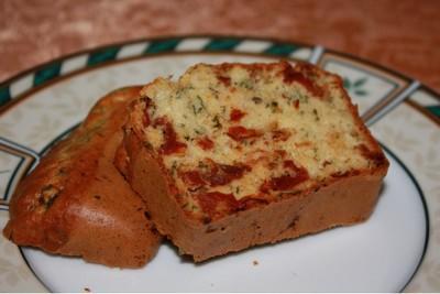 recette cake tomates confites basilic 750g. Black Bedroom Furniture Sets. Home Design Ideas