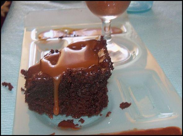 recette fondant au chocolat et sauce caramel 750g