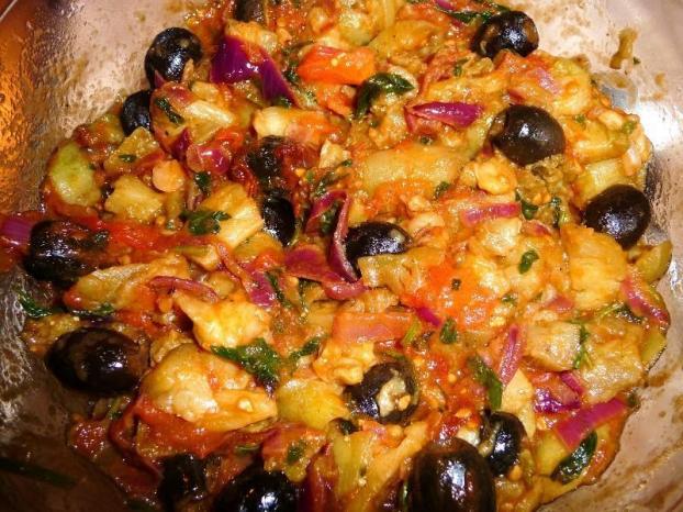 Recette caponata la sicilienne 750g - Blog cuisine sicilienne ...