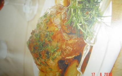 Recette jarret de veau au four 750g - Jarret de veau au four ...