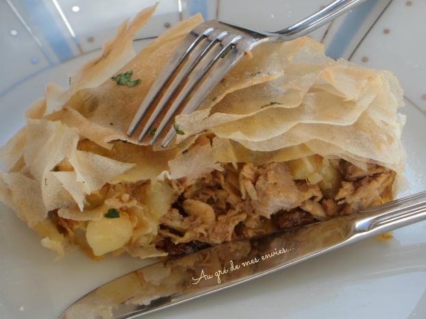 Recette rouelle de porc et pommes de terre confites en pastilla 750g - Cuisiner la rouelle de porc ...