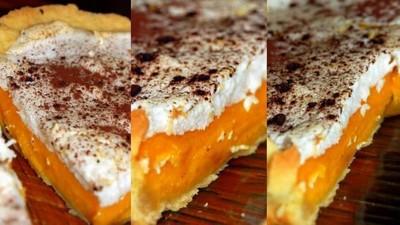 Recette tarte bicolore aux potimarrons 750g - Cuisiner les potimarrons ...