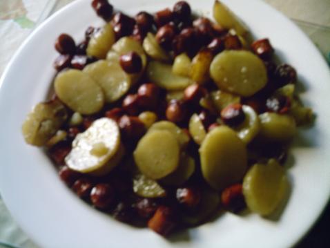 Recette pommes de terre au saucisse de strasbourg 750g - Cuisiner des saucisses de strasbourg ...