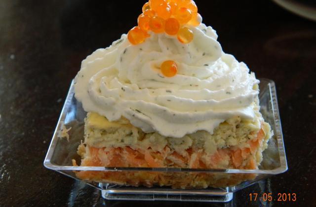 Cheesecake au saumon fumé inratable - Photo par sissifred
