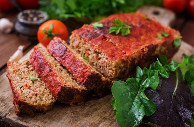 Pain de viande facile - Photo par 750g