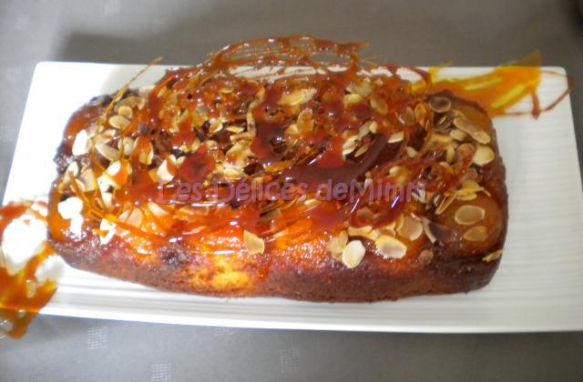 Cake aux abricots façon Tatin - Photo par mimm10