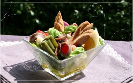 Salade niçoise gourmande - Photo par Dan