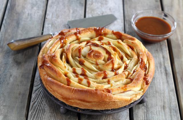 Brioche spirale aux pommes - Photo par Silvia Santucci