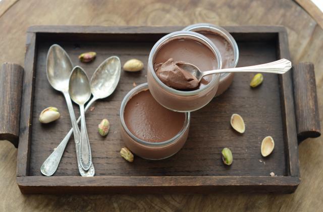 Crème au chocolat vegan - Photo par Nadia Paprikas