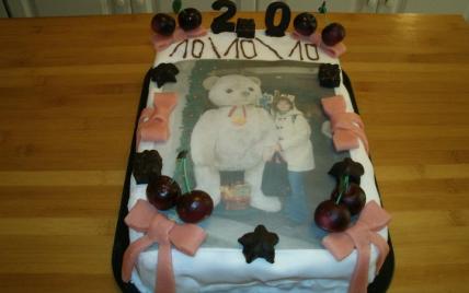 Gâteau d'anniversaire inratable - Photo par piktop