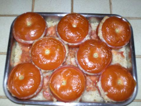 Tomates farcies au thon - Photo par 750g