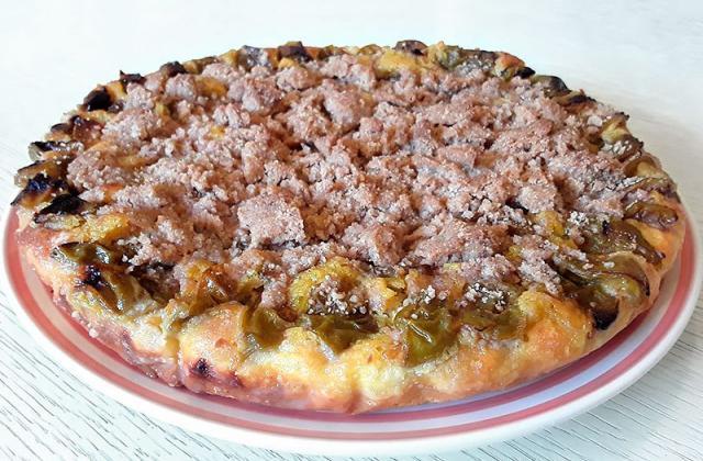 Tarte briochée aux prunes Reine-Claude - Photo par Dany33