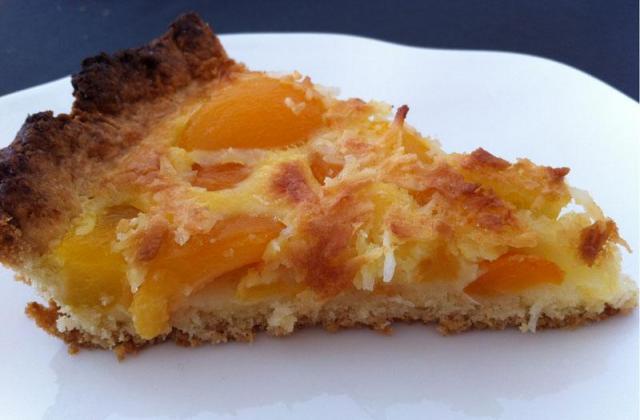 Tarte coco-abricots - Photo par camilldUS