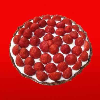 Tarte aux fraises chococo - Photo par sophieqgJ