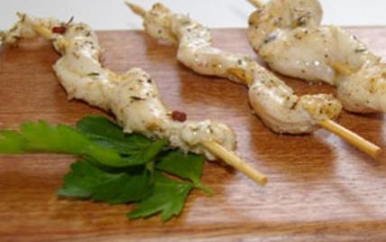 Brochettes de poulet mariné façon créole - Photo par Terre Exotique