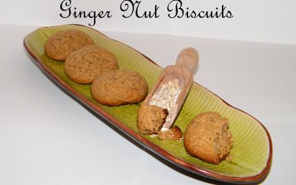Ginger nut biscuits - Photo par chouya