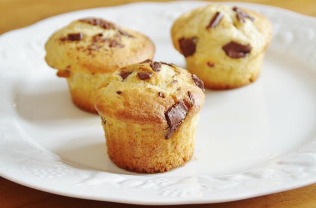 Muffins aux pépites de chocolat - Photo par candyr