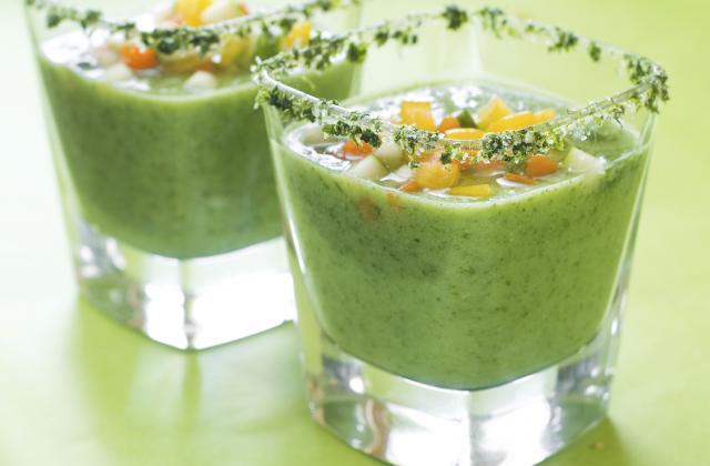 Et oui, on peut se rafraîchir avec une soupe cet été. Voilà comment ! - Photo par Marie-Rose Dominguès