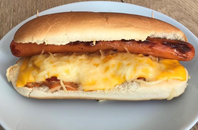Hot-dog façon bistrot - Photo par quenelle01