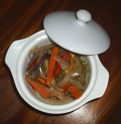 Marmite de légumes parfumés à l'huile d'argan - Photo par azizab