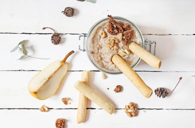 Dips sucré-salé au roquefort - Photo par maiape